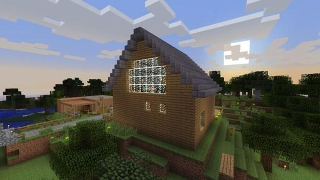 how to build a hoe in minecraft