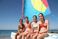 Vind bikini voor jonge vrouwen - zodat u een goed figuur op het strand