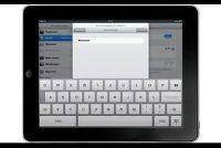 Het maken van Wi-Fi-verbinding met de iPad