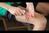Pijnlijke spieren in de dijen - zodat je hem verlichten