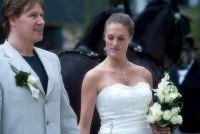 Kapsels voor shoulder-length dun haar - ideeën voor bruids kapsels