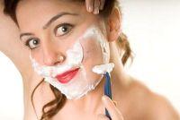 Verwijder gezichtshaar - hoe het werkt