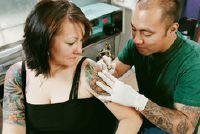 Tattoo: Pijnlijke - Instructies