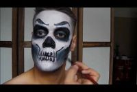 Halloween schilderij voor het gezicht - dus het wordt griezelige