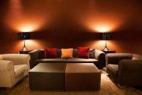 Hedendaagse muur ontwerp voor de woonkamer - Ideeën