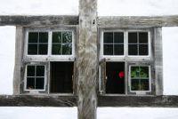 Oude gebouwen: herstel oude houten ramen - dus het is mogelijk