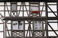 Vakwerk huis in de Middeleeuwen - Informatieve
