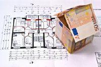 Zet schaal in de architectuur - dat u moet zich bewust zijn van een constructie tekening