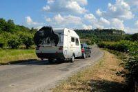 Reizen door Europa - dus we gaan met de caravan