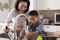 Hoe kunt u water te besparen?  - Implementeren van de basisschool