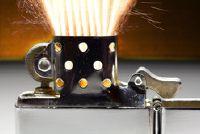 Zippo - de vuursteen voor lichtere opties zijn uitwisselbaar dus