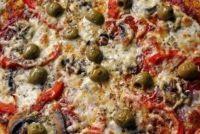 Pizza van rundergehakt - met paprika