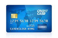 Gebruik online credit card - die wordt waargenomen