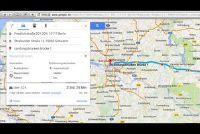Google Maps - dus u bent van plan een individuele route