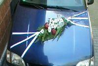 Maak Hochzeitsdeko voor de auto zelf