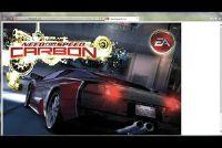 Need for Speed Carbon games onder Windows 7 - hoe het werkt