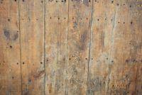 Verwijder roestvlekken op het terras - dus ga je met hout