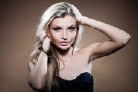 Zwart en blond strepen - zodat u jazz-up van uw haar met de combinatie van