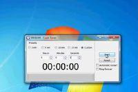 Het opzetten van een countdown timer op je bureaublad - is hoe het werkt