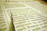 Synopsis voor een krantenartikel - hoe het werkt