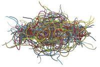 Verbergen kabels - de 9 beste residentiële Tips