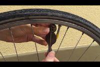 Acht verwijder het wiel - Instructies