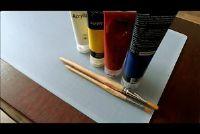 Kleur mix van acryl - hoe het werkt