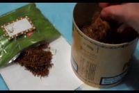 Houd tabak vochtig - dus slaagt's