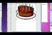 Maak verwijzingen met GIMP zelf - Verjaardag