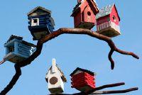 Vogelfutterhaus: Plan - Ideeën