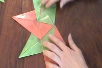 Folding instructies voor ster - zo succesvol knutselen met kinderen