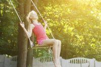 Build kinderen swing zelf