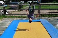 Games op de trampoline - met deze ideeën moet je sportief plezier