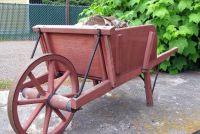Build houten wielen voor een bloem cart