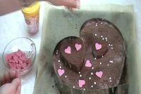 Hart cake - een recept voor Valentijnsdag