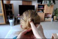 Dutt maken - Instructies