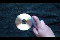 Verwijder CD Scratch met haarlak - hoe het werkt