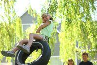 Kinderen lawaai in de tuin van de buren - wat te doen?