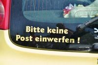 Customer Duitse Post - Hoe toe te passen als een service werknemer