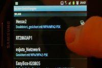Android: Verbinding maken met Wi-Fi - Voor het instellen van de computer