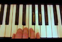 Instructies leren het toetsenbord - eerste vingergrepen