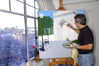 Foto's te schilderen zelf - stap voor stap