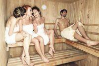 Voorkom erectie in sauna