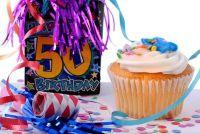 50ste verjaardag - decoratie gemakkelijk gemaakt