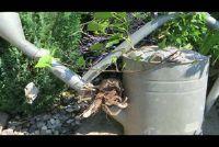Herplanten zink tubs voor de tuin effectief als een container
