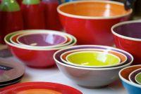Colored gerechten - kleur en verf uw eigen keramiek