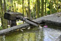 Granieten fontein voor de tuin - dus je het goed onderhouden