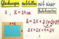 Het opzetten van en het oplossen van vergelijkingen - hoe het werkt