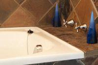 Repareer een bad glazuur - dus het komt met een bad kleur