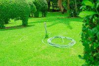 Bouwen kraan in de tuin